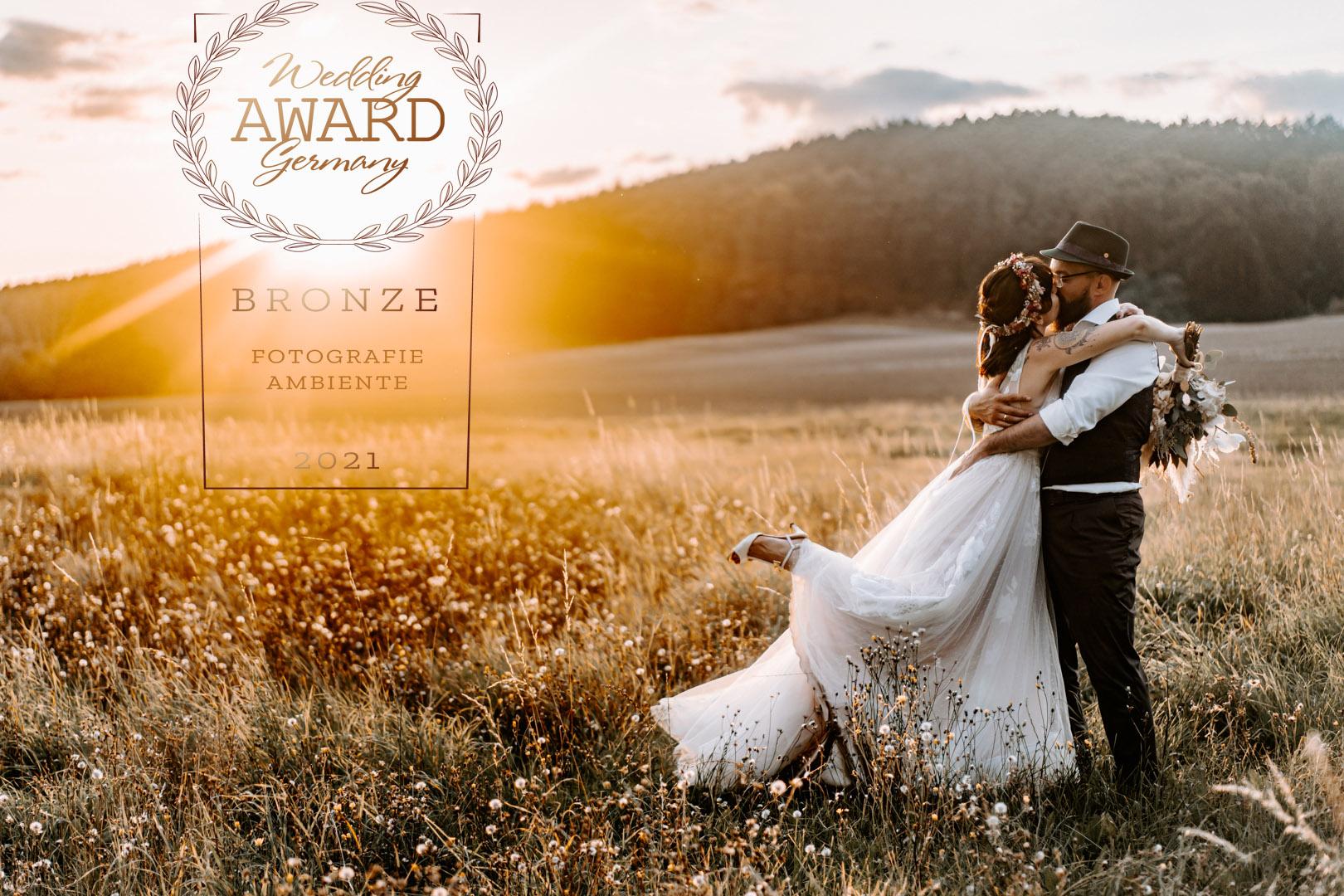 Boho Waldhochzeit Rittergut Positz Sunsetshooting Wedding Award Germany Hochzeitsfotograf Halle Saale Leipzig